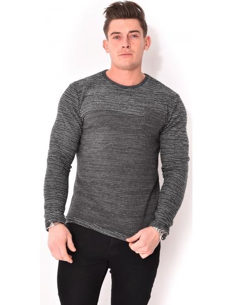 T-shirt chiné à poche