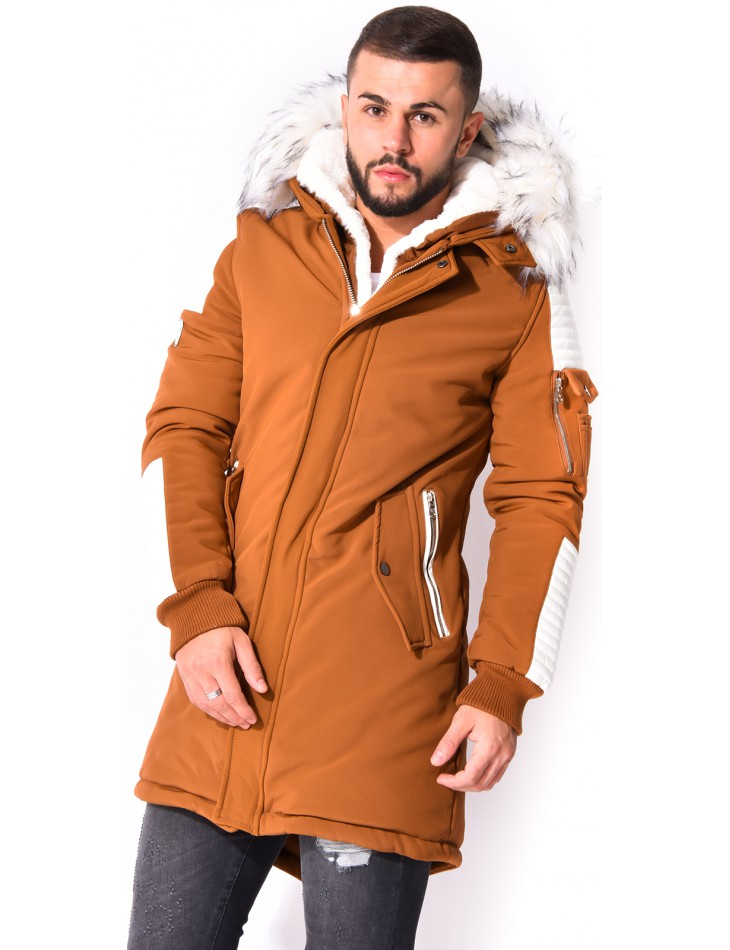 Project X Parka with Quilted Inserts