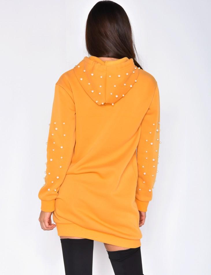 Sweatshirt Pearl Dress
