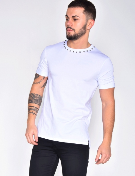 T-SHIRT A CLOUS WHITE