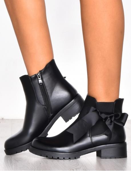Boots à noeud