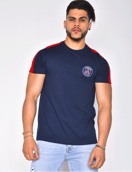 T-shirt with 'Paris Saint Germain' Badge