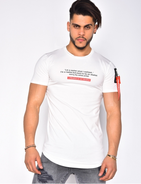 T-shirt citation