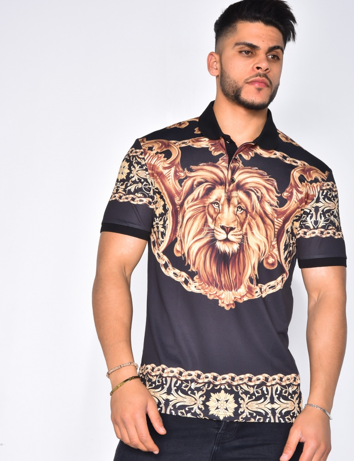 Polo tête de lion