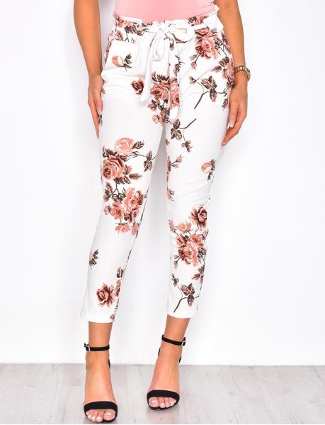 Hose mit Blumen