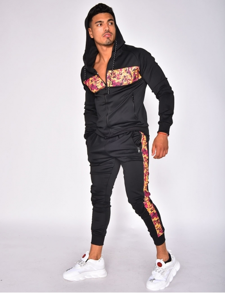 Tracksuit with Baroque Pattern