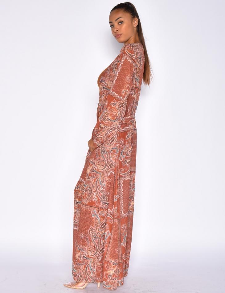 Kimono with Baroque Pattern
