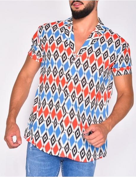 Gemustertes Hemd