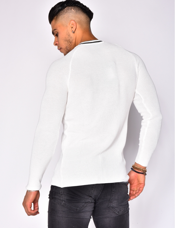 Jumper with 'Black edition' Collar