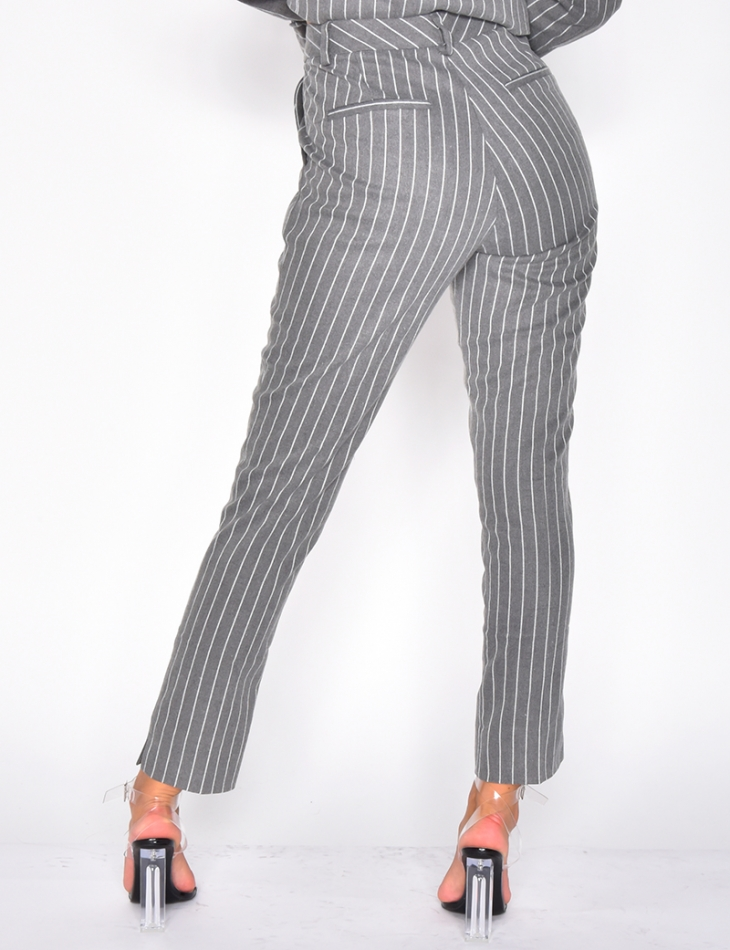 Premium Striped Trousers