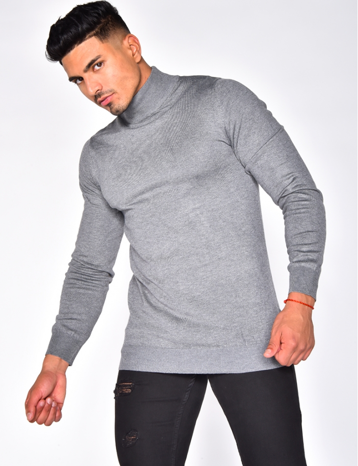 High Neck Fine Jumper