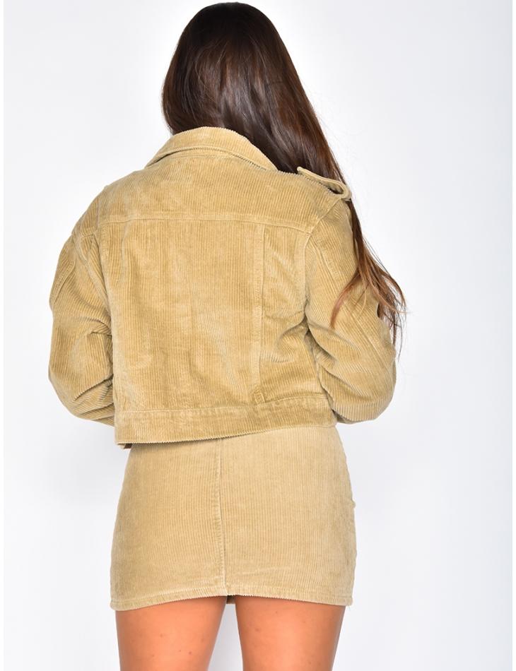 Short Velvet Jacket