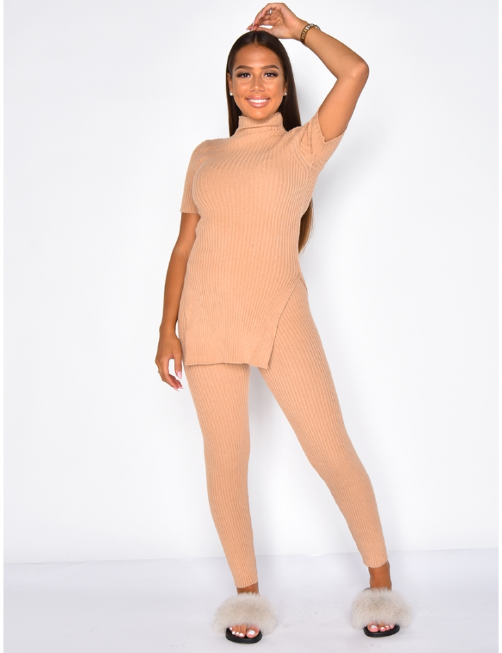 Super Soft Ribbed Jumper and Trousers Co-ord