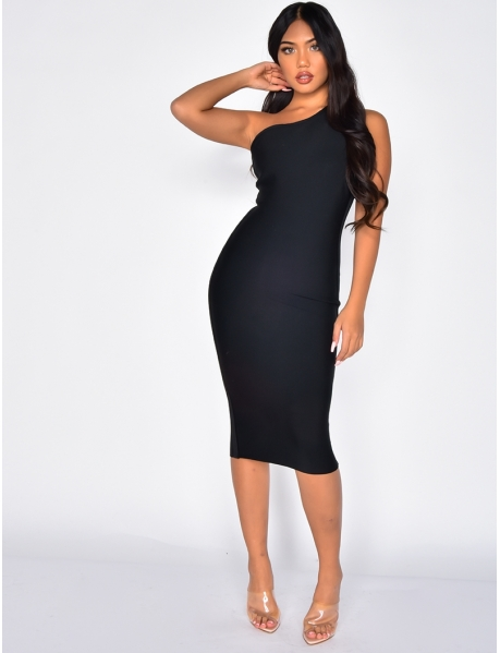 PREMIUM Asymmetric Bandage Dress