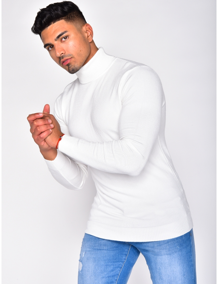 Basic Polo Neck Jumper