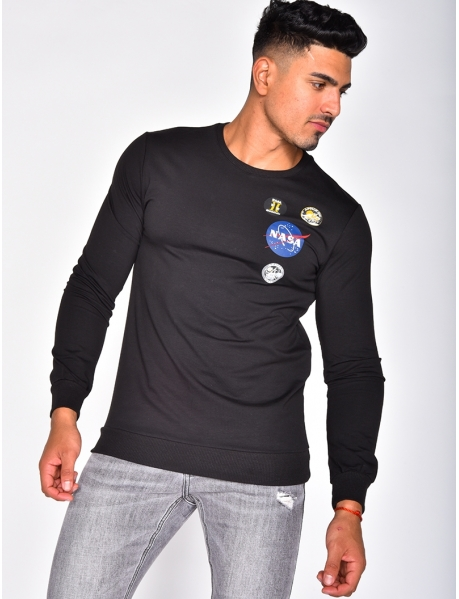 "Sweat col rond ""NASA"""