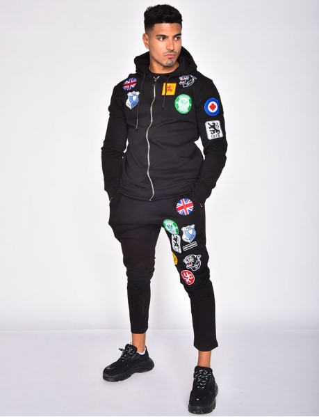 Tracksuit with Badges
