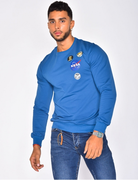 "Sweat col rond ""NASA"""