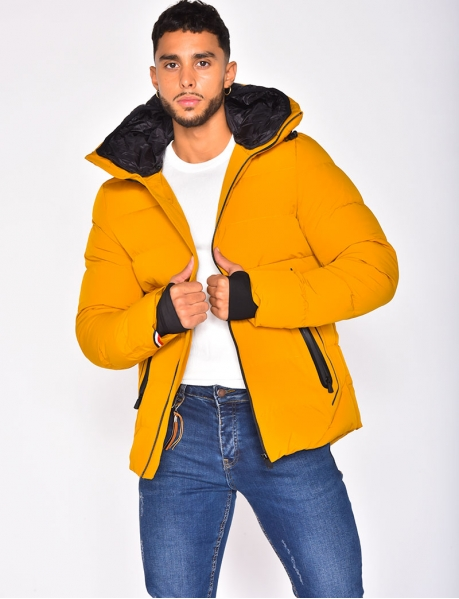 Mustard Yellow Padded Jacket