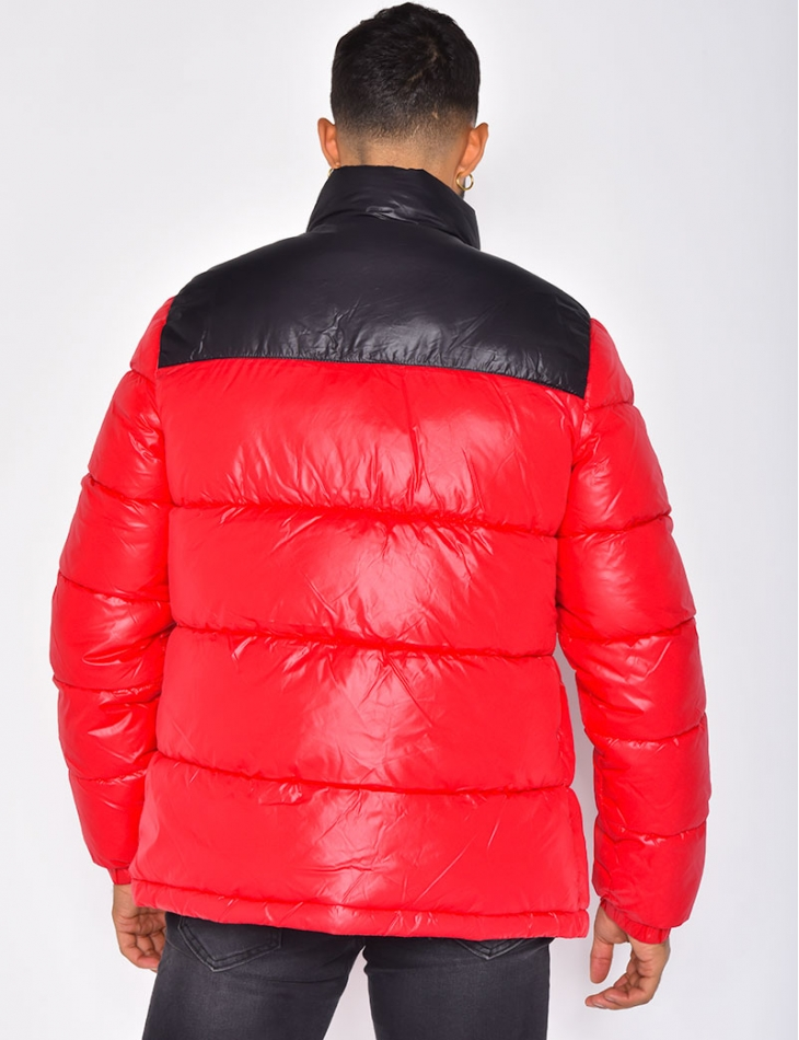 Two-Coloured Padded Jacket