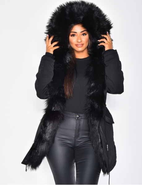 Parka with Fur Hood