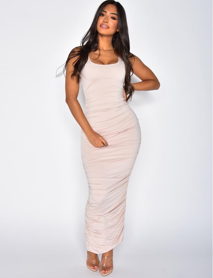 Long Drape Dress