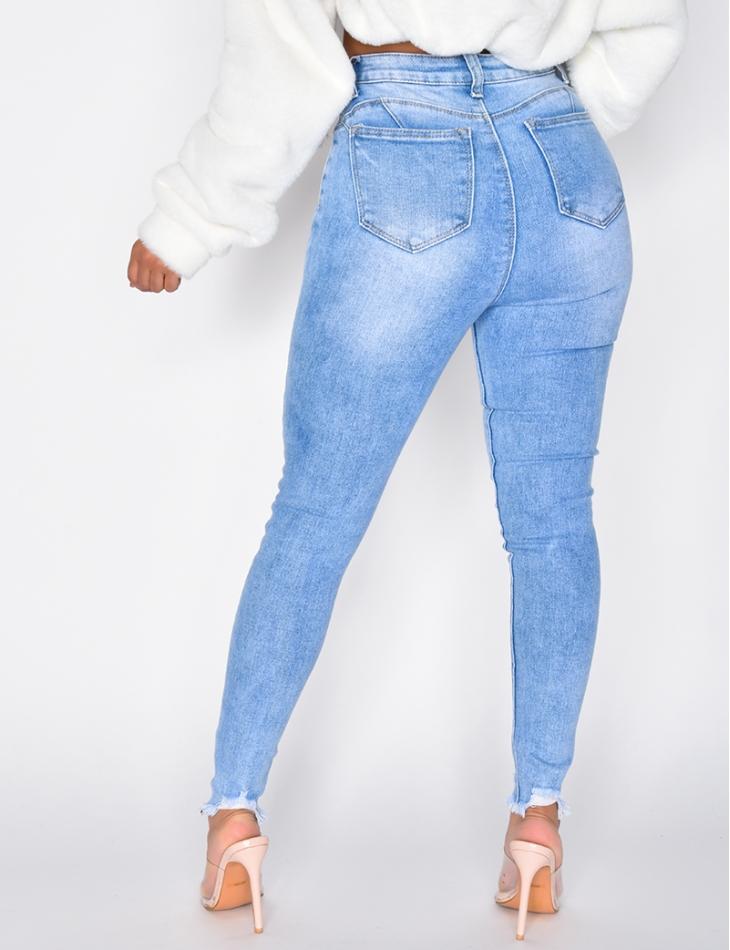 Jeans destroy push-up