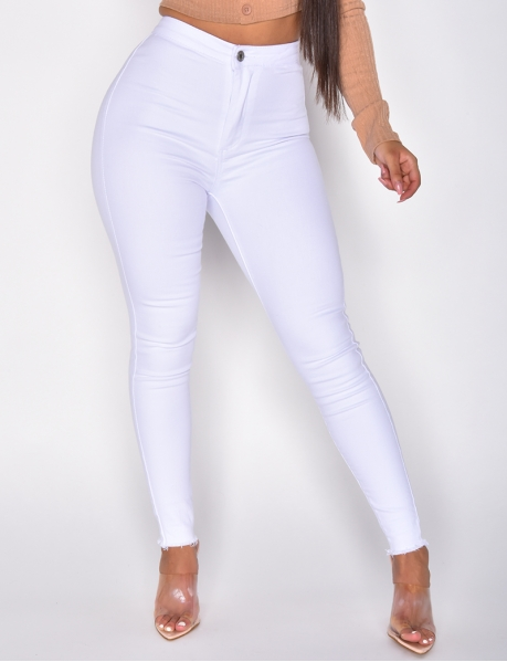 Jeggings mit hoher Taille