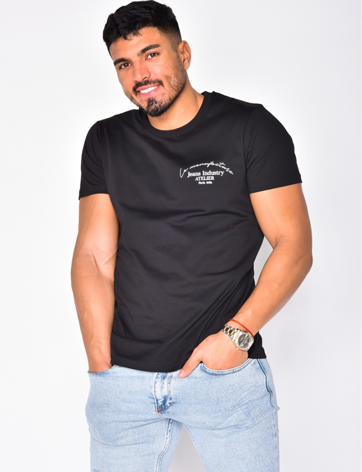 "T-shirt ""Jeans Industry atelier"""