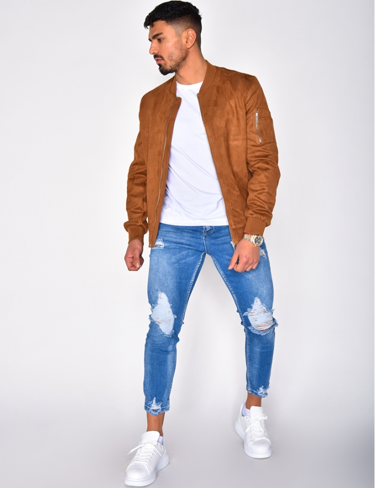 Suedette Jacket