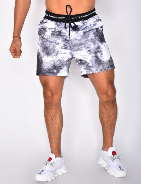 Tie Dye Style Shorts