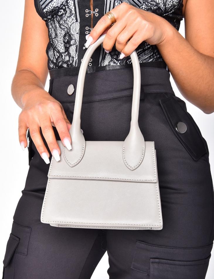 Small Faux Leather Handbag