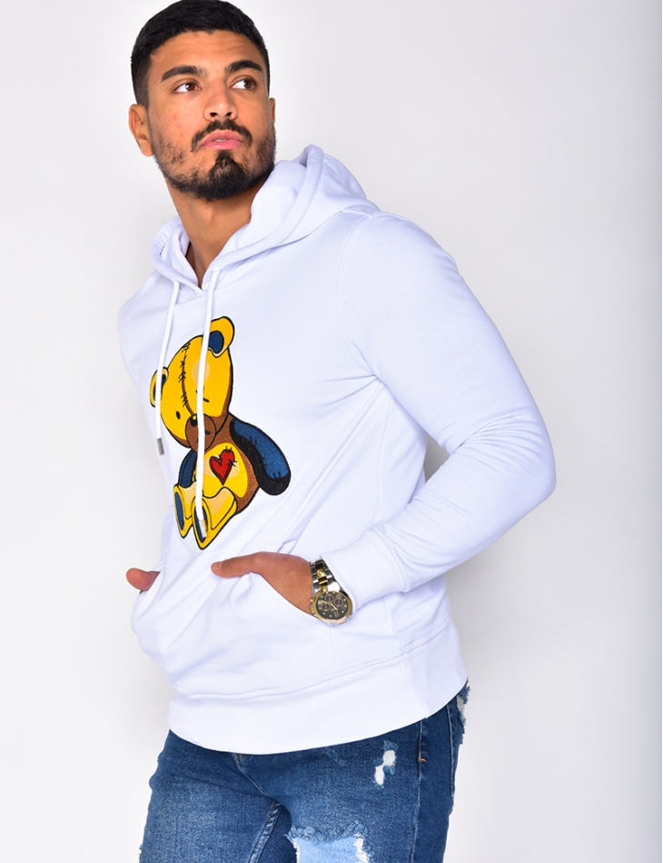Sweatshirt with Hood
