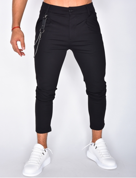 Men's Trousers with Chain