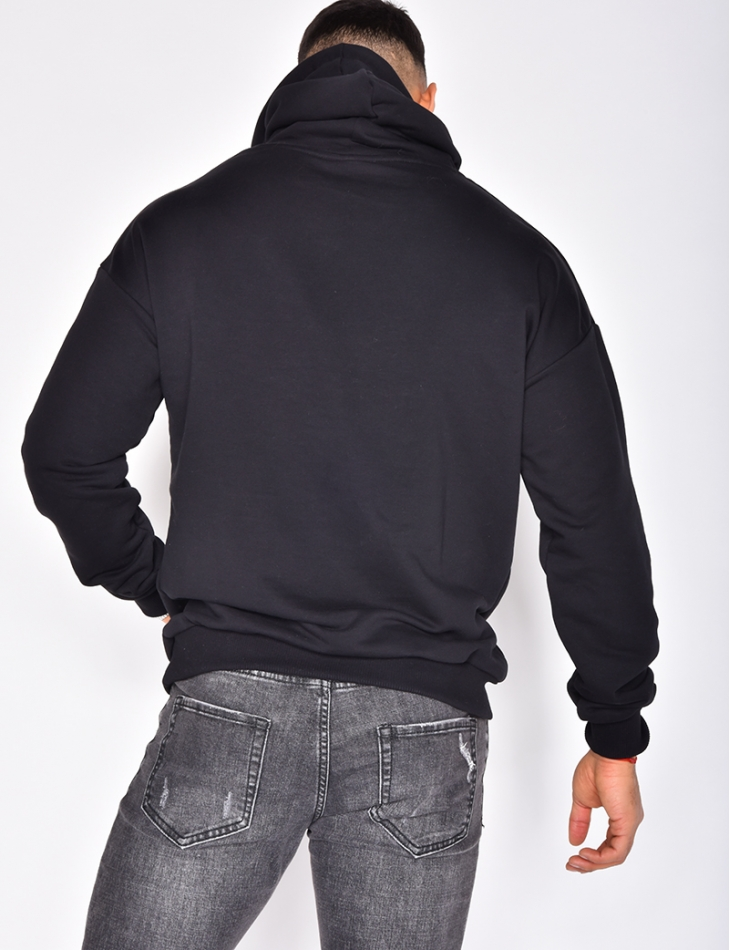 Jeans Industry Sweatshirt with Hood