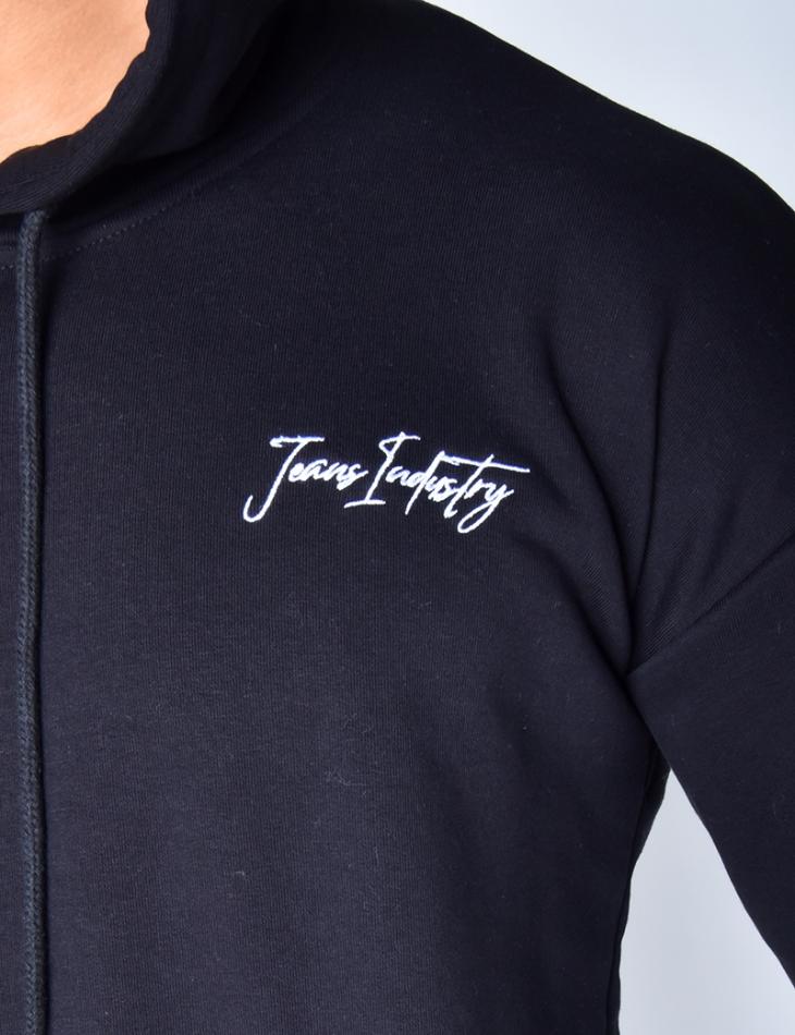 Jeans Industry Sweatshirt with Hood