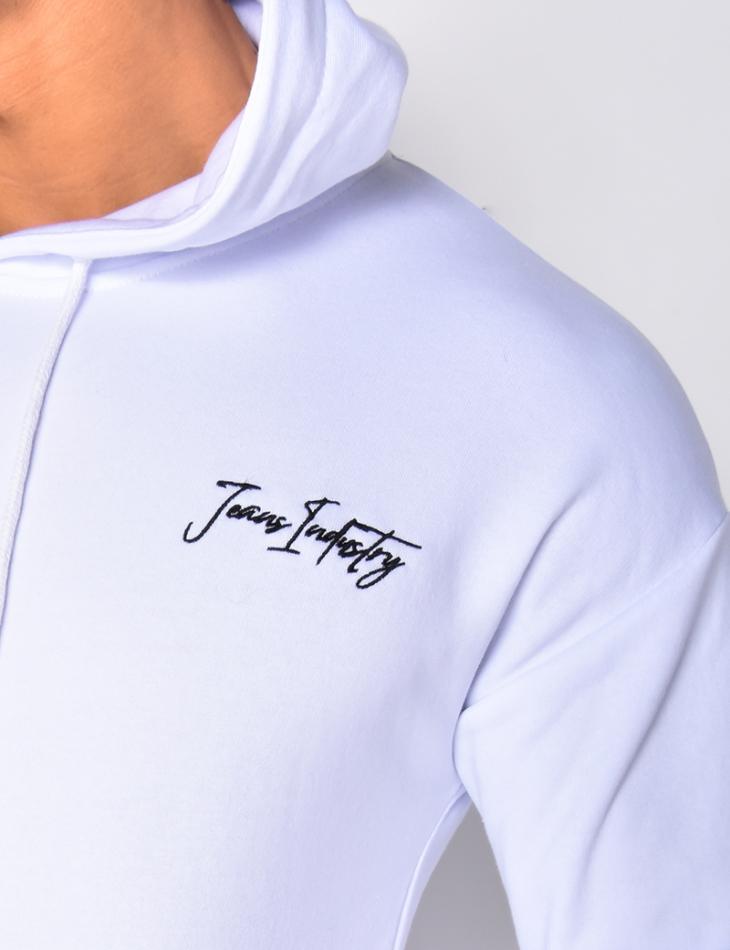 """Jeans Industry"" Sweatshirt with Hood"