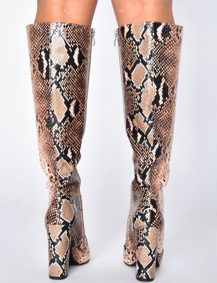 Printed Boots
