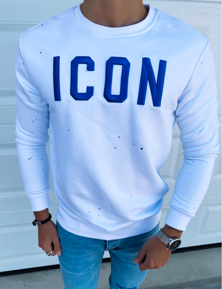 """Sweat col rond """"ICON"""""""