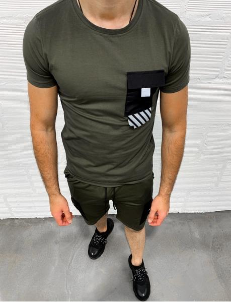 T-shirt à bandes réfléchissantes
