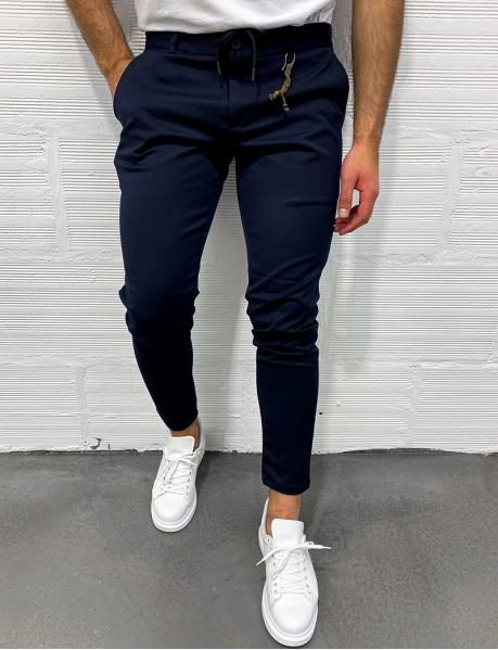 Pantalon homme à breloques