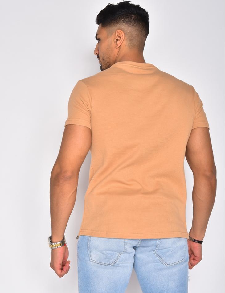 T-shirt texturé