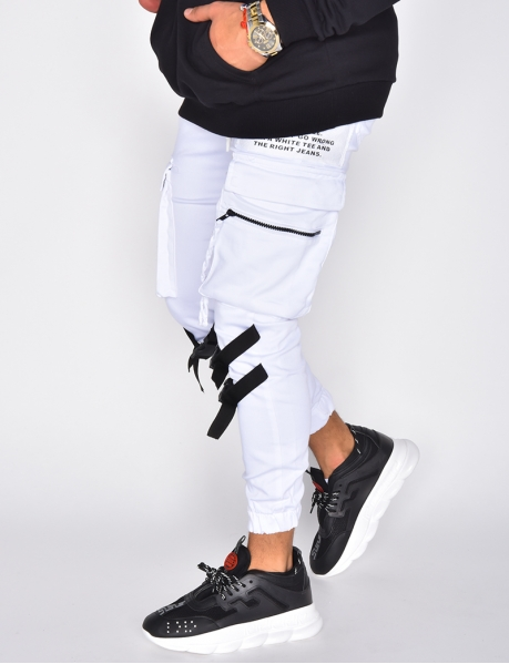 Jogging Bottoms with Straps
