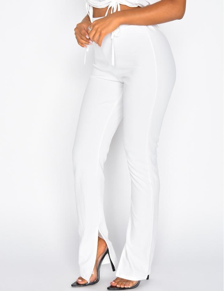 Pantalon à fentes