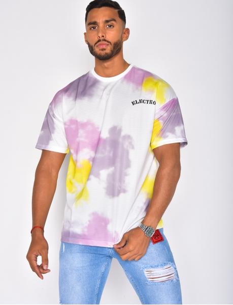 Oversize-T-Shirt mit Graffitis