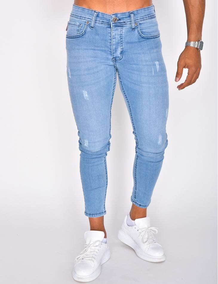 Jeans bleu basique