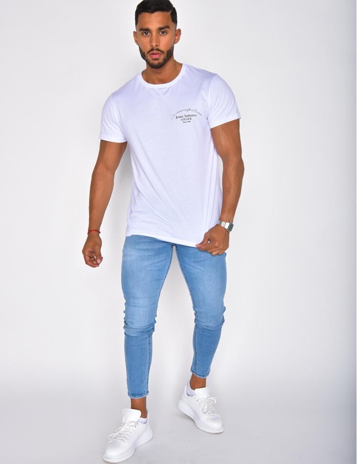 Jeans bleu clair basique