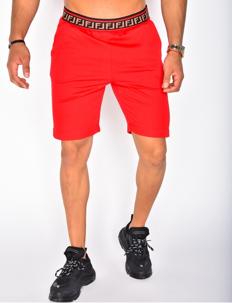 Shorts with Geometrical Band