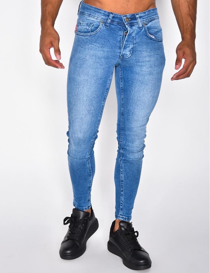 Jeans bleu basic