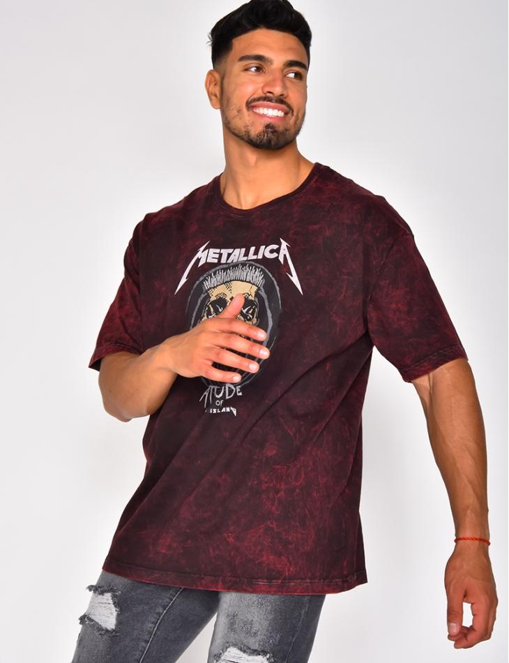 "T-shirt ""Metalica"""